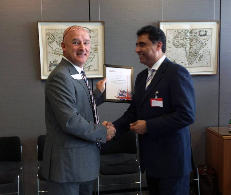 Transputec Recognised as Area Finalist in HSBC Global Connections 2014