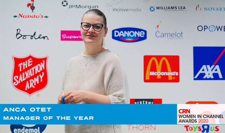 Anca Otet - Manager of the Year!