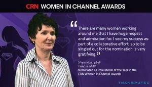 Transputec's Sharon Campbell makes the shortlist in the CRN Women in Channel Awards