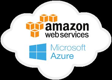 Amazon Web Services and Microsoft Azure