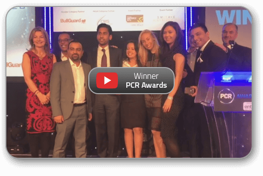Transputec wins MSP Reseller of the Year 2017 at the PCR Awards
